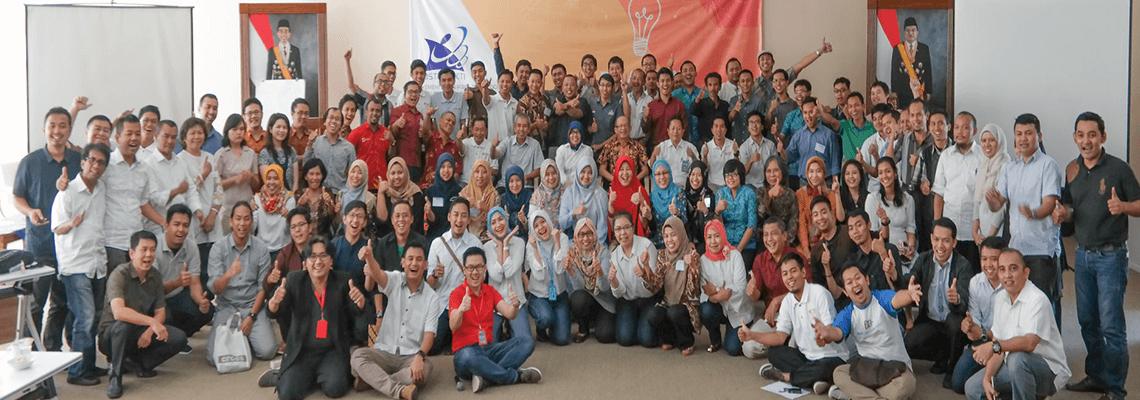 Pelatihan Inkubasi Bisnis Teknologi, Serpong
